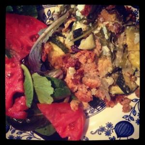 zucchiniricegratin